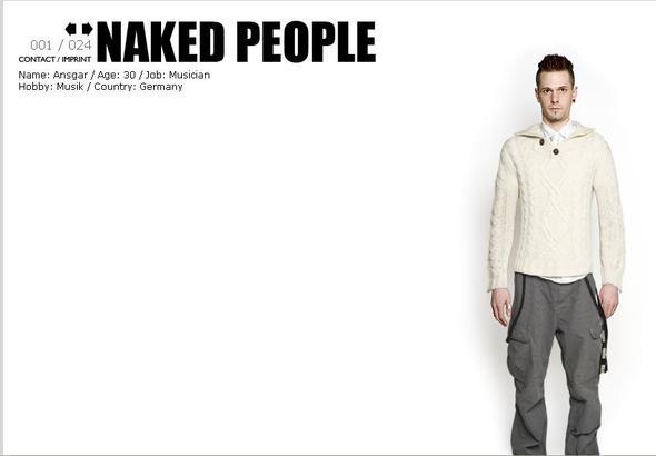 Naked people! Немецкий проект вих стиле. Изображение № 1.