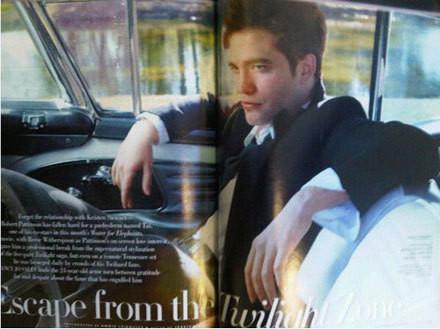 Изображение 3. Robert Pattinson на Vanity Fair Апрель 2011 (США).. Изображение № 3.