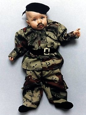 Коллекция костюмов мировых диктаторов для детей. Изображение № 4.