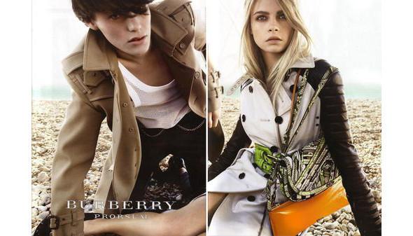 Изображение 1. Превью кампаний: Burberry, Chanel, Gucci и другие.. Изображение № 1.