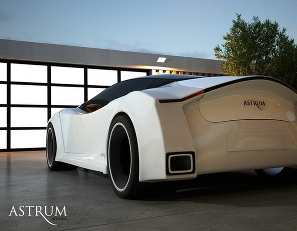 Astrum Meera - проект очень красивого автомобиля со многочисленными нововведениями. Изображение № 11.