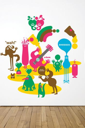 Виниловый мир от француского дизайнера Genevieve Gauckler. Изображение № 5.