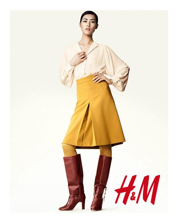 Лукбук: Лю Вэнь и Эдита Вилкевичюте для H&M FW 2011. Изображение № 6.