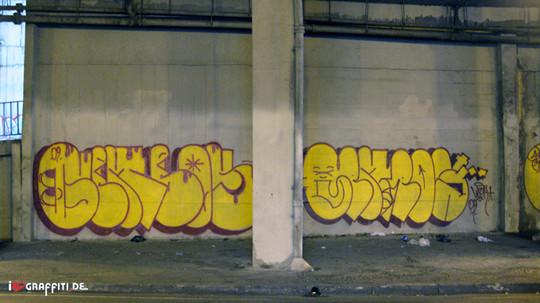 Граффити художники Os Gmeos о творческом пути. Изображение № 32.