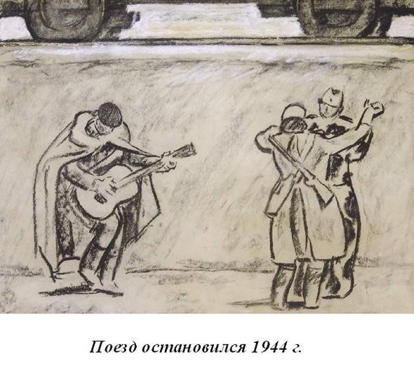 Леонид Сойфертис. рисунок, карикатура. Изображение № 6.