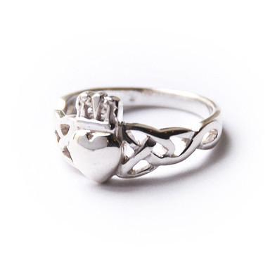 Кольца влюбленных — кладдахские кольца из Ирландии. Изображение № 5.
