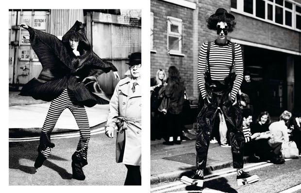 Новые съемки Dazed & Confused, Vogue, i-D и W Magazine. Изображение № 9.