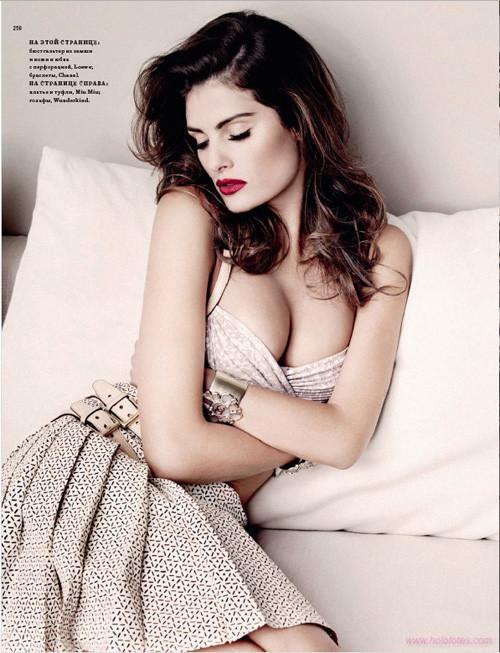 """""""Французский шик"""" для Harpers Bazaar. Изображение № 8."""
