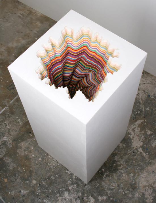 Объемные скульптуры из бумаги Jen Stark. Изображение № 18.