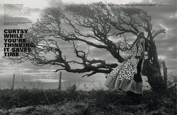 Daphne Groeneveld для i-D Spring. Изображение № 2.
