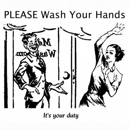 Кто научил мир мыть руки и почему их мыть не нужно?. Изображение № 2.