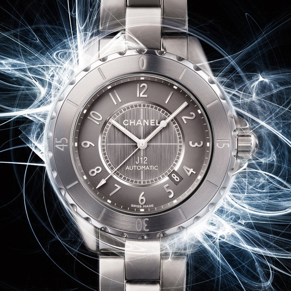 New Grey: часы Chanel J12. Изображение № 1.