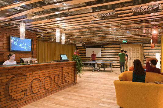 Google Moscow Office (арх. бюро CAMENZIND EVOLUTION) Архитектор: Т. Руэгг. Изображение №16.