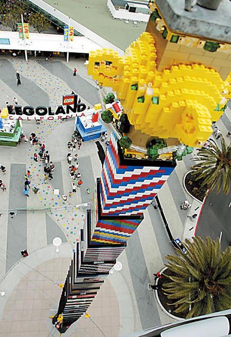 Трехмерный макет Японии и еще 10 удивительных объектов из LEGO. Изображение № 9.