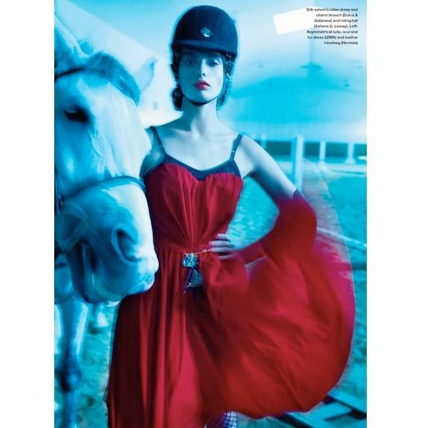 Новые съемки: Elle, Marie Claire, Vogue и другие. Изображение № 5.