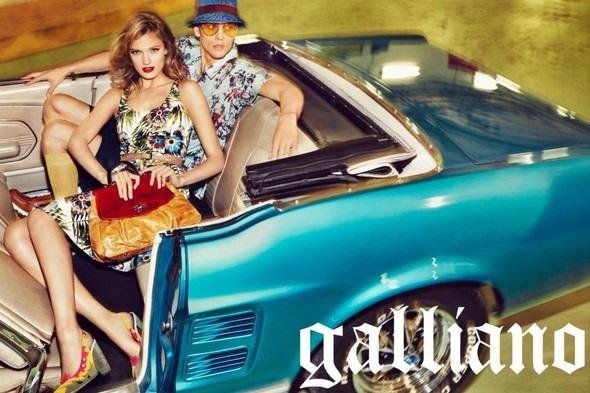 Кампания: Galliano SS 2012. Изображение № 5.