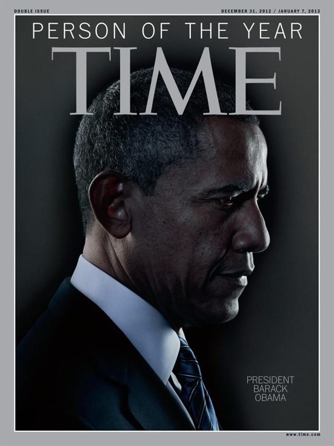 Обама стал человеком года по версии Time . Изображение № 1.