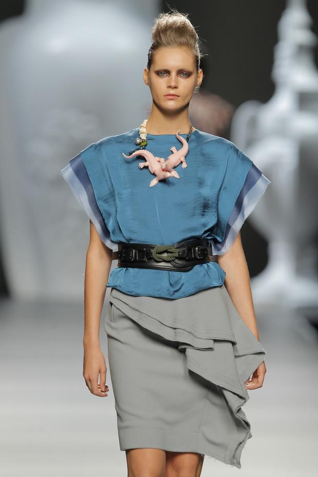 Madrid Fashion Week SS 2013: ANA LOCKING . Изображение № 10.
