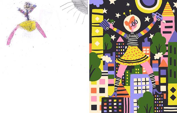 Художники создали монстров наоснове детских рисунков. Изображение № 15.