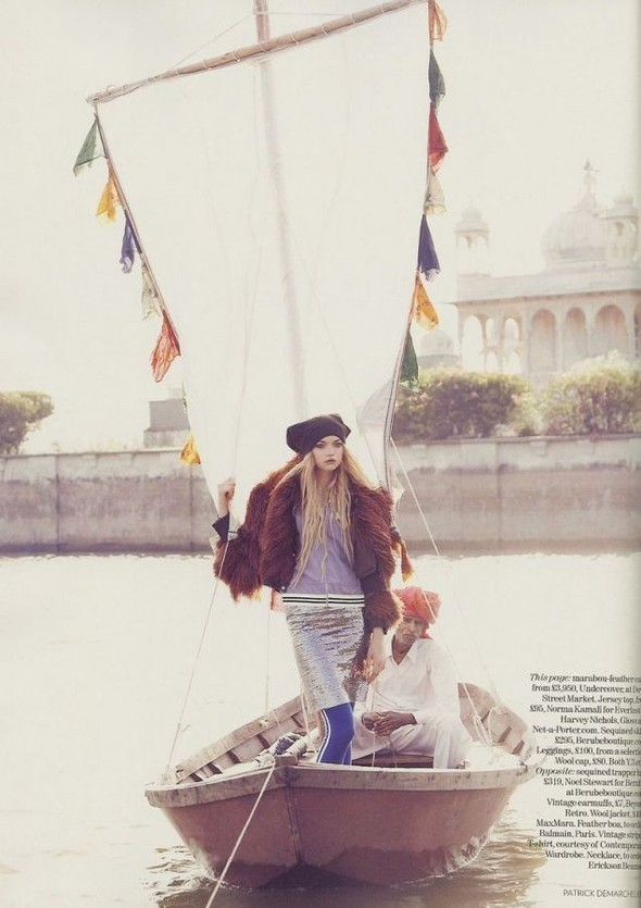 Fashion travels the world.India. Изображение № 11.