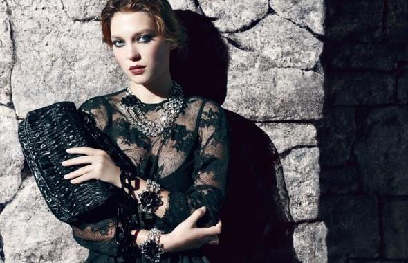 Кампания: Леа Сейду для Prada. Изображение № 4.