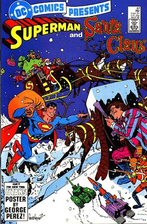 20 новогодних обложек комиксов. Изображение № 15.