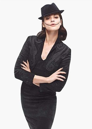 Кампания: Карин Ройтфельд для Barneys. Изображение № 6.