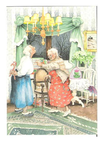 Inge Lооk - и развесёлые бабульки. Изображение № 11.
