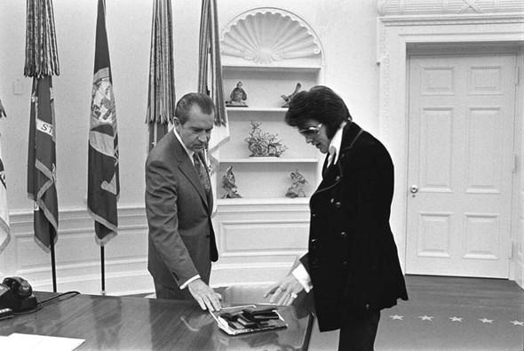 Элвис Пресли vsРичард Никсон. Историческая встреча. Изображение № 3.