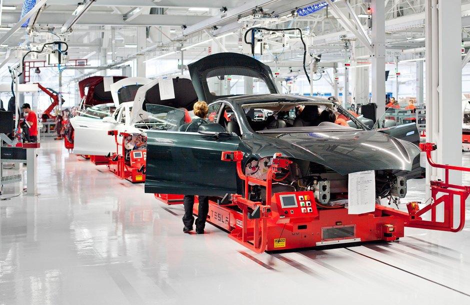 Как создаются электромобили Tesla. Изображение № 2.
