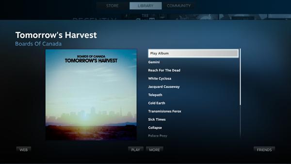 В Steam появится аудиоплеер. Изображение № 5.