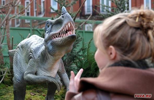 """""""Dinosaurs unleashed"""" или динозавры в Лондоне. Изображение № 20."""