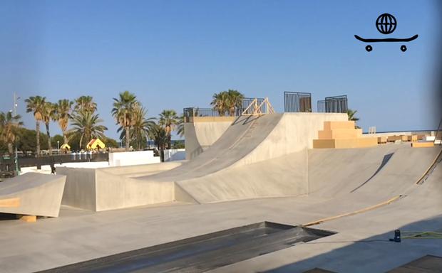 Испанское СМИ сняло скейтпарк для ховерборда Lexus . Изображение № 1.