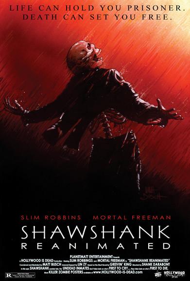 15 зомби-постеров известных фильмов. Изображение № 8.