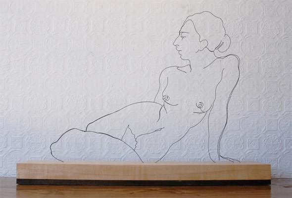Скульптуры из проволоки Гэвина Ворта. Изображение № 14.