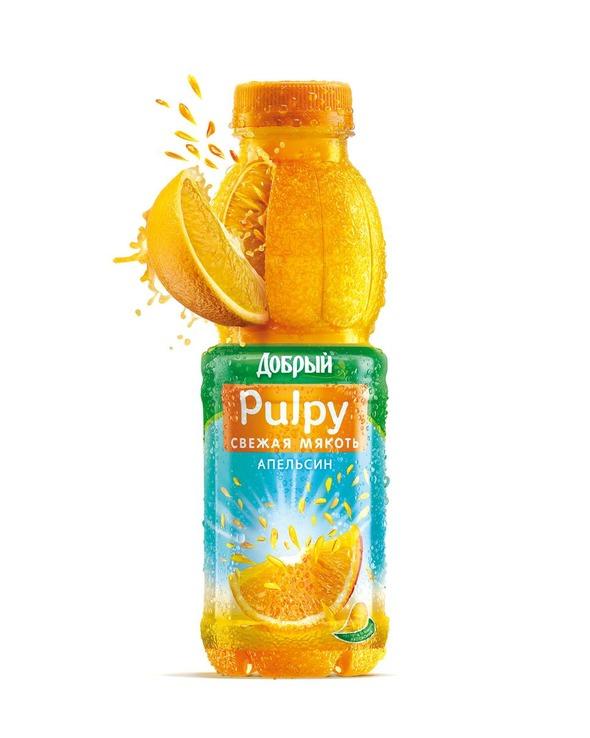 Новый продукт Pulpy «Свежая мякоть» теперь и на российском рынке. Изображение № 1.