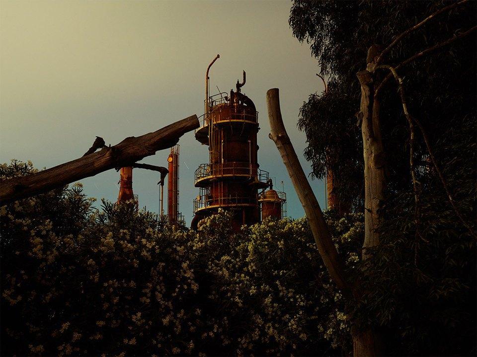 Фабрики из хоррора: ночная индустриальная фотография. Изображение № 7.