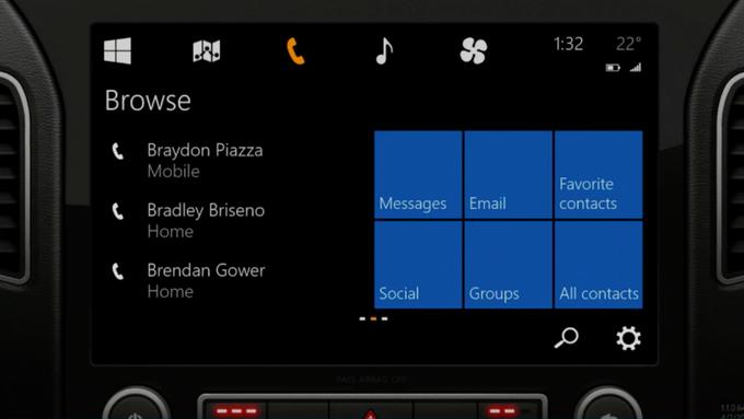Microsoft представила концепцию Windows для автомобиля . Изображение № 6.