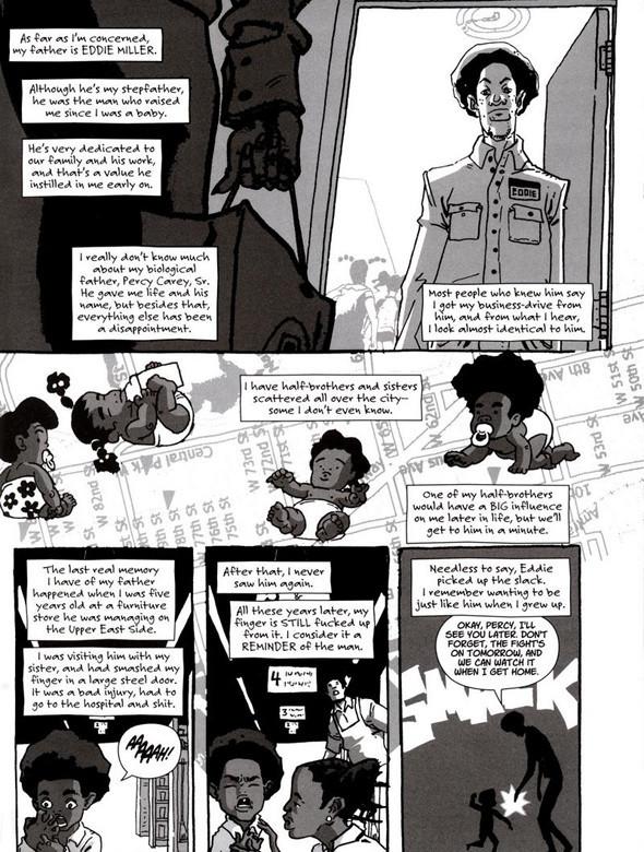 Комиксы легенды хип-хопа. Изображение № 15.