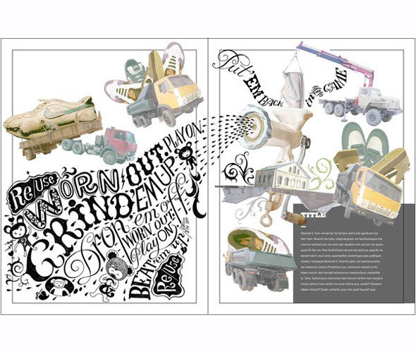Личный опыт: 5 российских иллюстраторов, которые работают для зарубежных проектов. Изображение № 66.