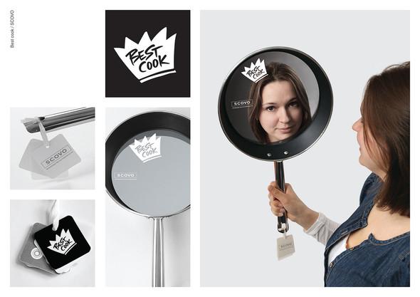 Идея упаковки:  когда сложно выбрать между зеркалом и сковородой.. Изображение № 1.