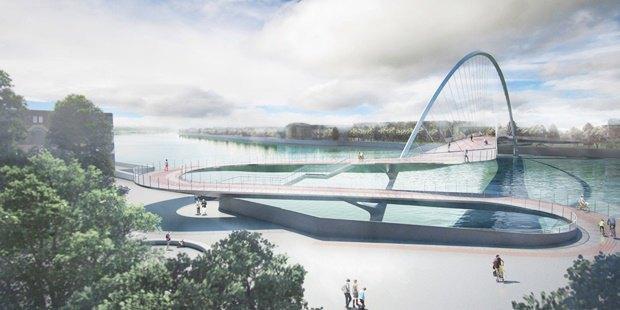 Выложены 74 проекта нового моста через Темзу. Изображение № 14.