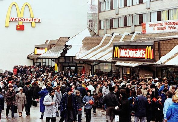 Цифра недели: 20 лет McDonalds в России. Изображение № 1.