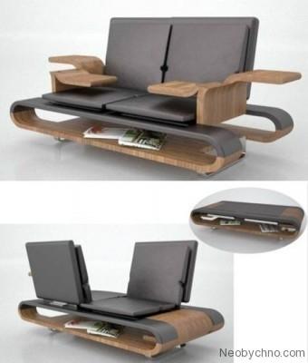 10-ка креативной мебели. Изображение № 4.