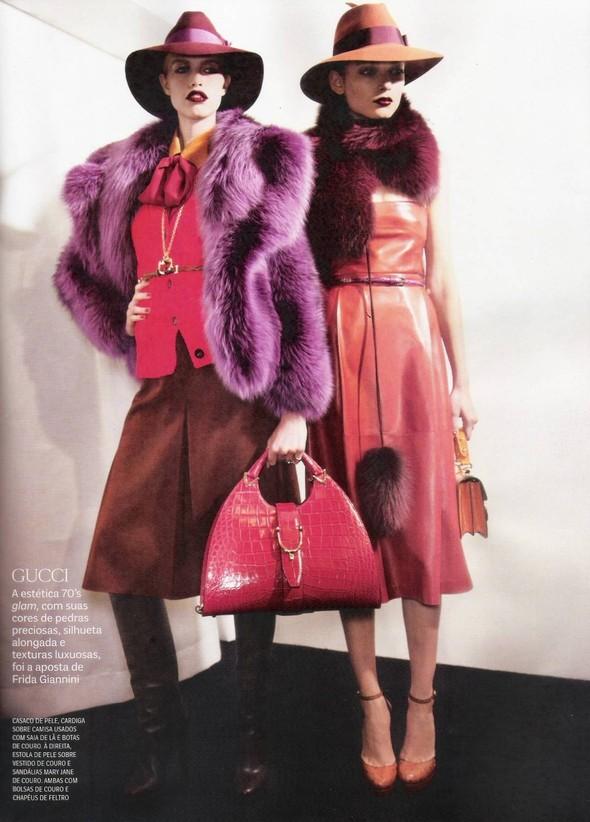 Съёмка: фотографии с бэкстейджей в бразильском Vogue. Изображение № 4.
