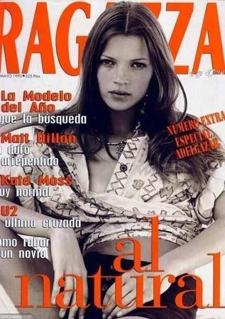 Кейт Мосс, наобложках главных модных журналов планеты. Изображение № 32.