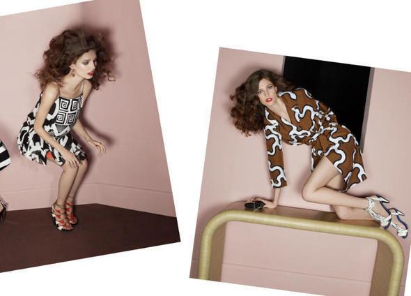 Изображение 17. Рекламные кампании: Diane von Furstenberg, Karl Lagerfeld, McQ и другие.. Изображение № 4.