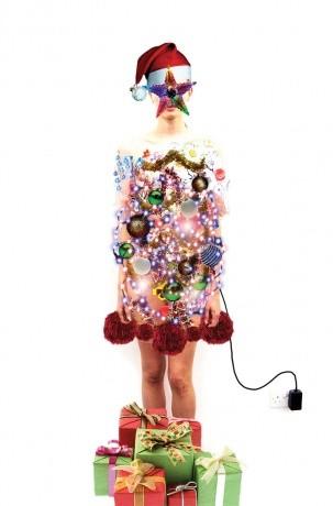 Новогодние fashion cards. Изображение № 1.