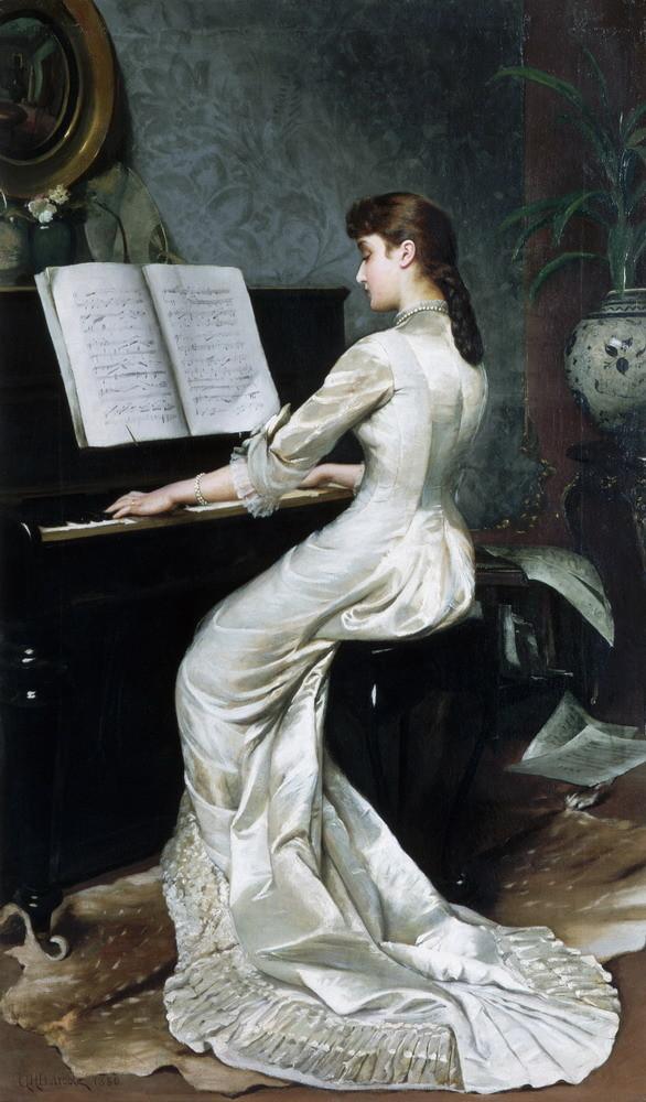 Музыка в живописи. Изображение № 6.