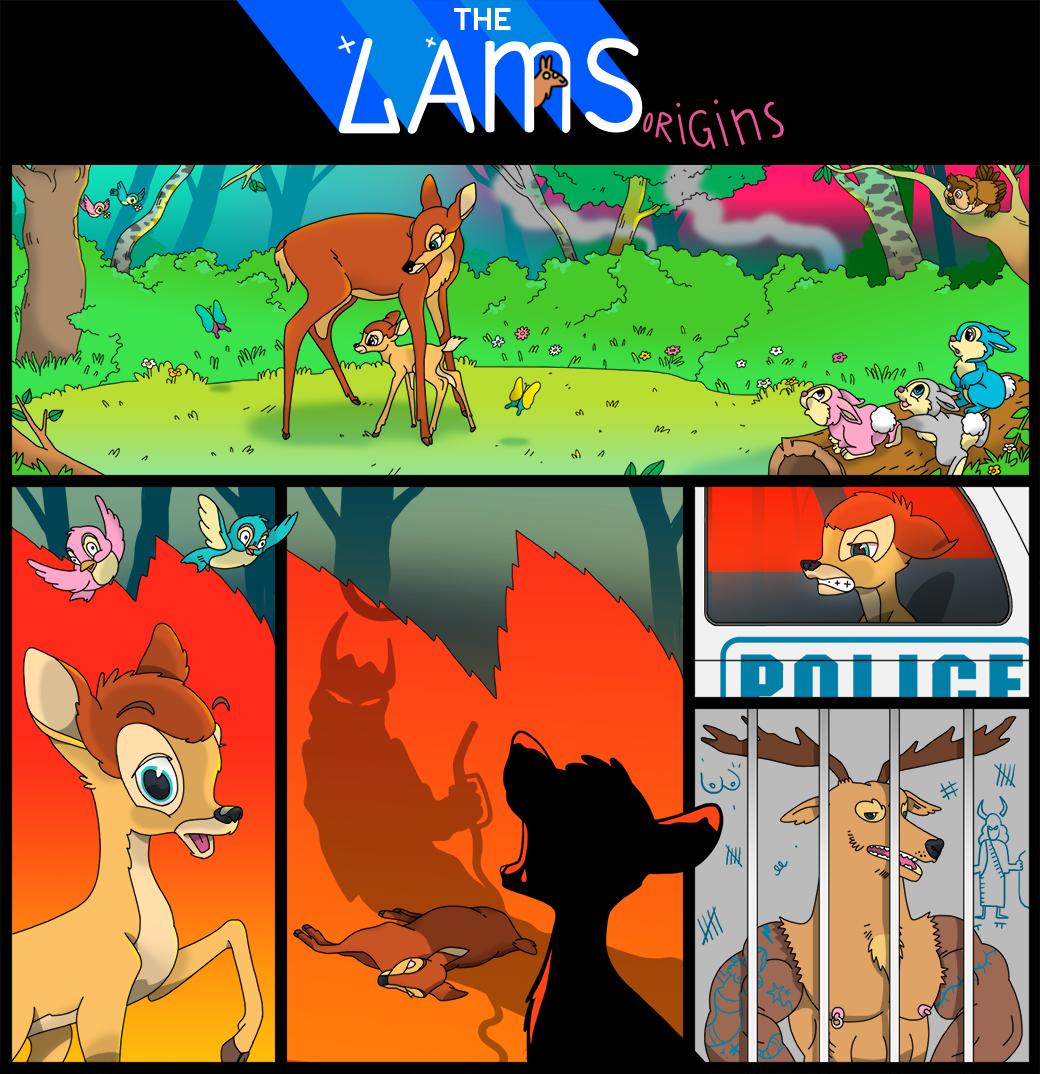 The Lams:  Пятничный стрип. Изображение № 2.